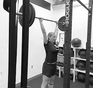 overhead press at tribestrength