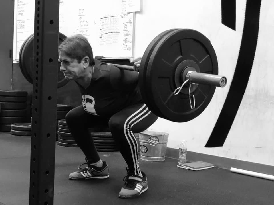 Harriet C. back squat