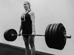 Barbell deadlift at tribestrength